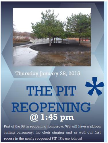 pit reopening