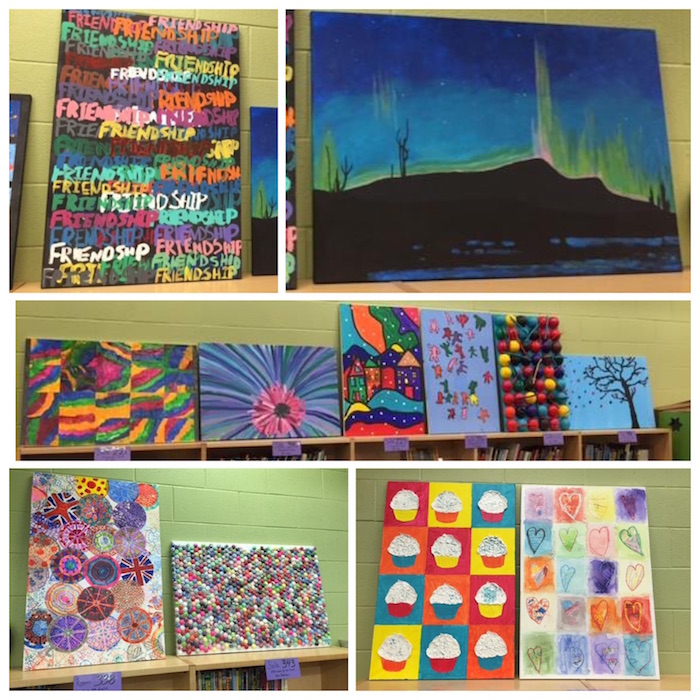 Withrow Silent Auction class art 2016